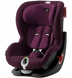 Автокресло Britax Romer KING II LS Black Series гр.1 (9-18кг) Burgundy Red