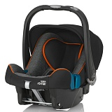 Britax Romer Baby Safe plus SHR II Black Marble Highline