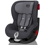 Автокресло Britax Romer KING II Black Series Storm Grey